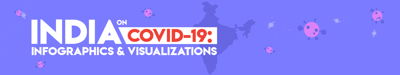 Banner of India on Covid-19: Infographics & Visualizations