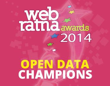 Banner of Web Ratna Awards 2014