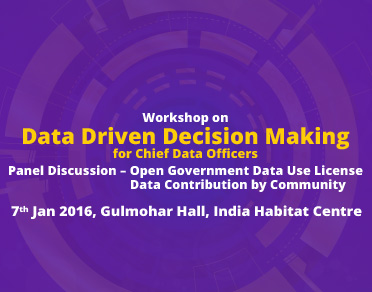 Banner of  Data Driven Decision Making For CDO