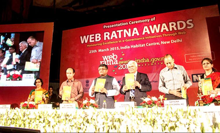 Open Data Champion Award in Digital India Awards 2014