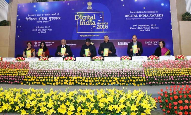 Open Data Champion Award in Digital India Awards 2016