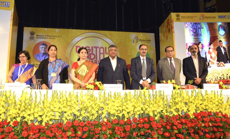 Open Data Champion Award in Digital India Awards 2018