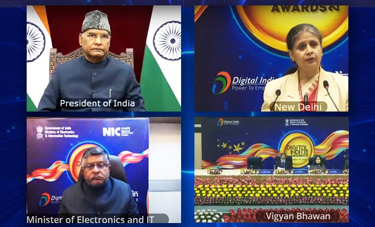 Open Data Champion Award in Digital India Awards 2020
