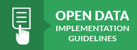Open Data Implementation Guidelines