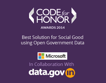 Banner of Code For Honor - Awards 2014