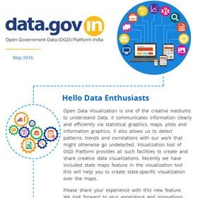 Newsletter - Use State maps in Visualization tool of OGD Platform