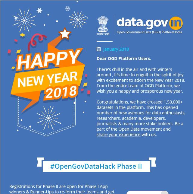 Newsletter - Happy New Year 2018