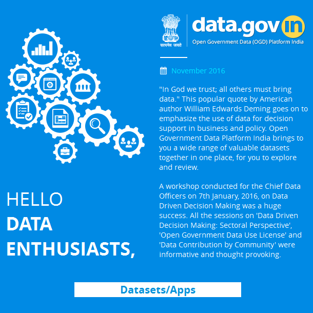 Newsletter - Open Government Data Portal of Surat Municipal Corporation(https://surat.data.gov.in) launched